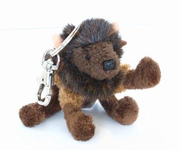 The Buffalo Plush Key Chain